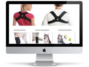 קידום אתרים לעסקים עם תמונת רקע של אתר של חברת אגון